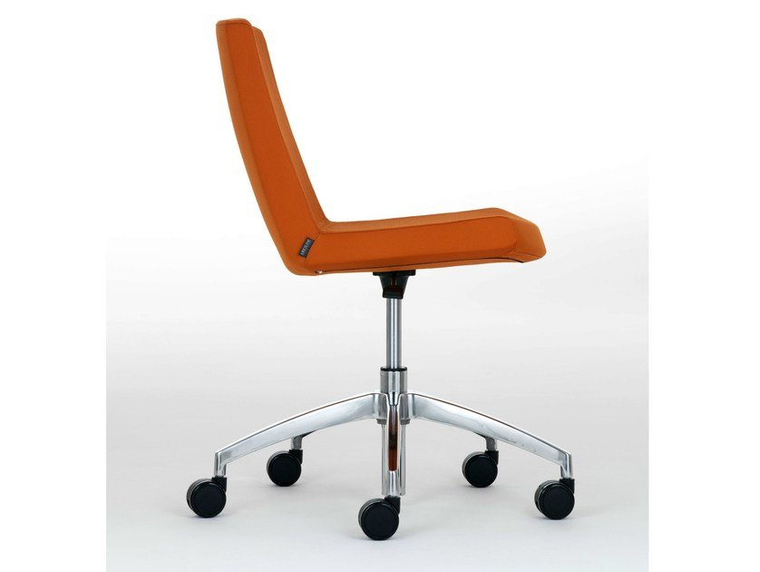Swivel chair with casters JOLLY | Chair by Ares Line