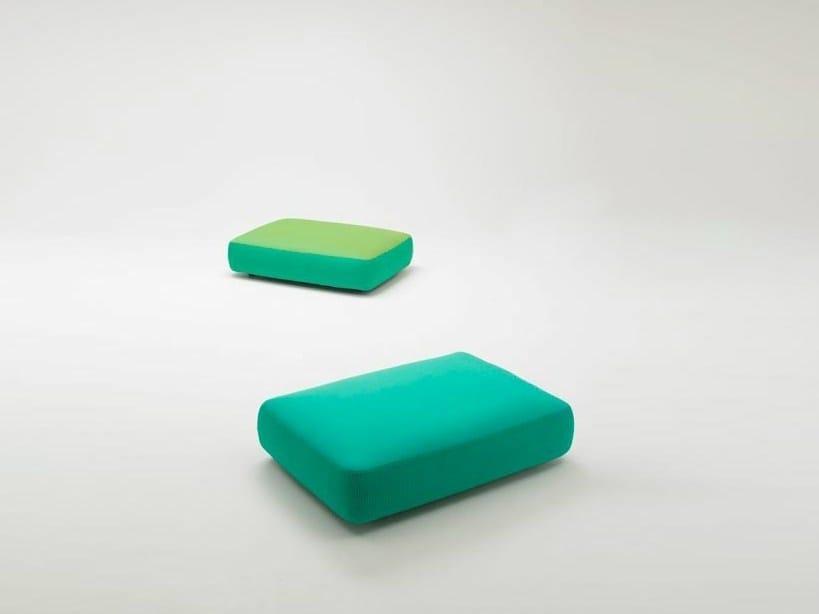 Fabric garden pouf JOLLY by paola lenti