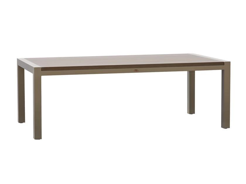 Rectangular table JOURNEY 23091 by SKYLINE design