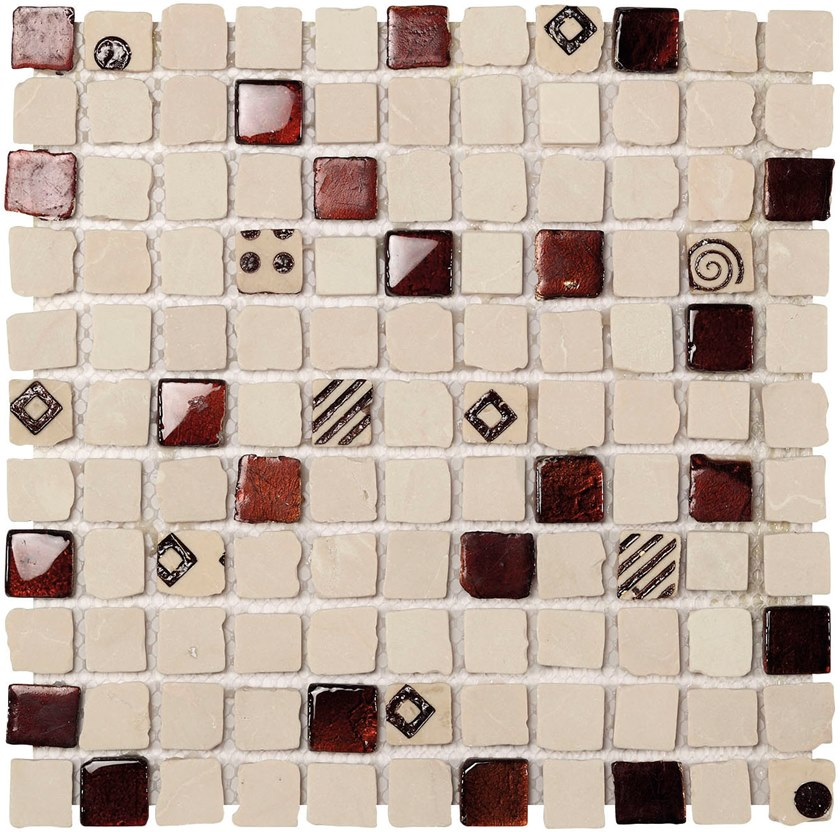Marble mosaic JOY by BOXER