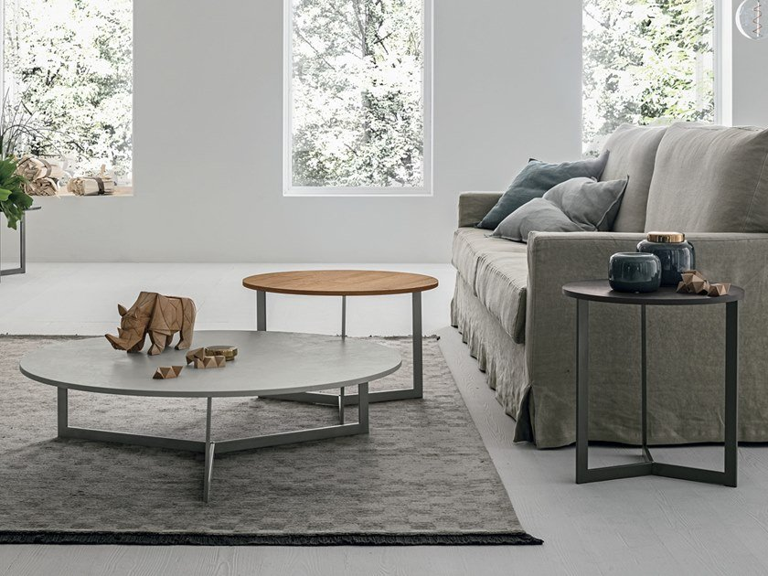 Round coffee table JOY by Gruppo Tomasella