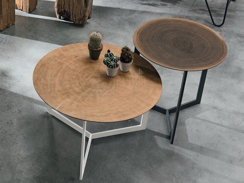 Coffee table JOY WOOD by Gruppo Tomasella