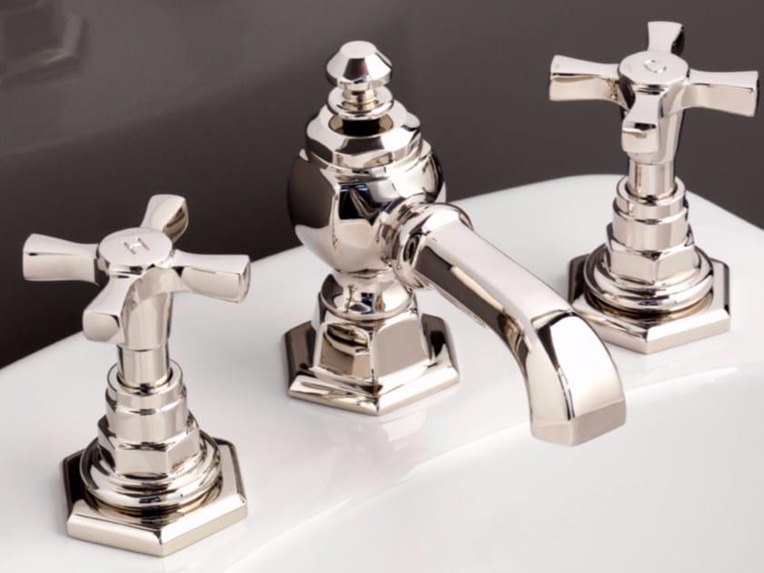3 hole countertop bidet tap JUBILEE | Bidet tap by Devon&Devon
