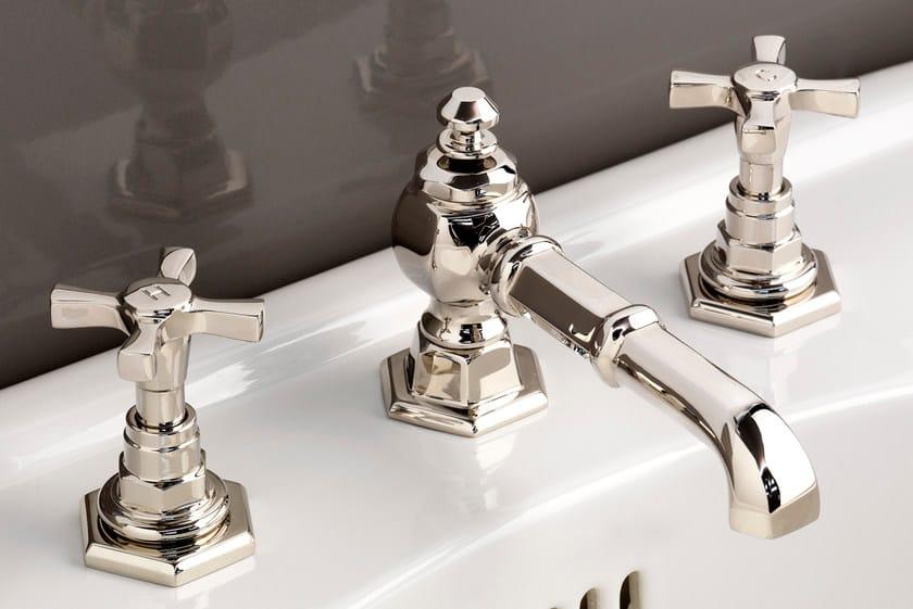 3 hole countertop washbasin tap JUBILEE | Washbasin tap by Devon&Devon