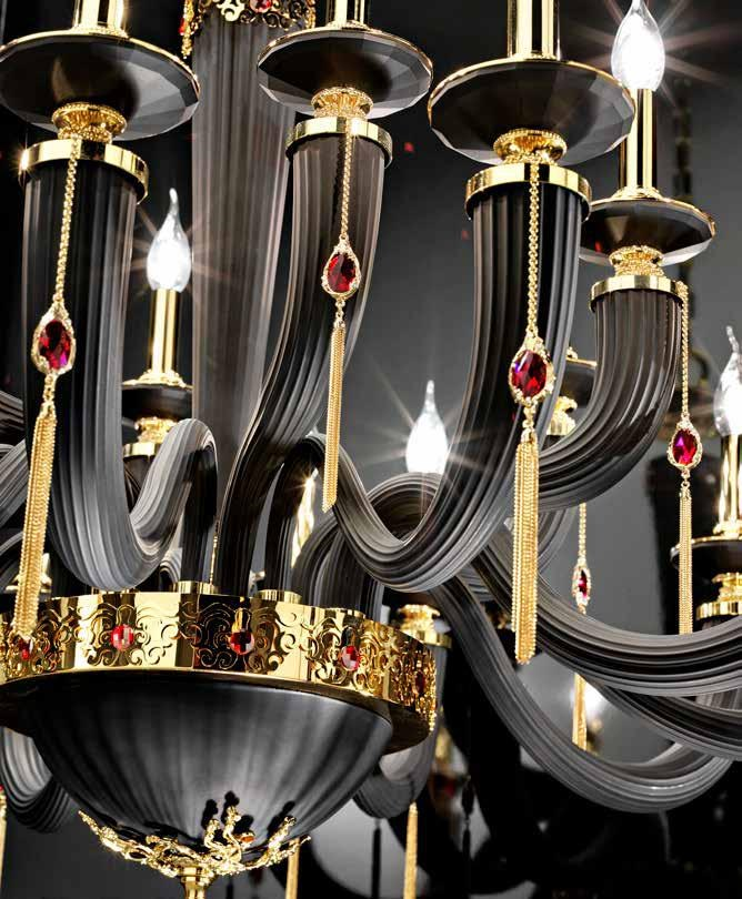 Euroluce Swarovski® Cristallo Con 6 Lampadari Cristalli Lampadario Julienne In L12 mwnN08