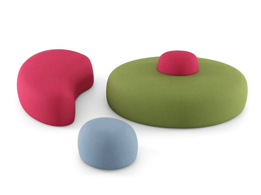 Fabric bench seating JUMP by ESTEL GROUP