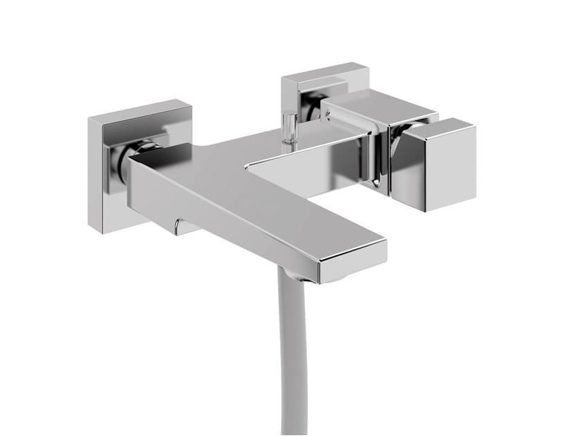 Wall-mounted bathtub mixer JUMP MONO | Bathtub mixer by BIANCHI RUBINETTERIE