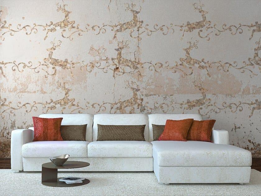 Motif wallpaper JUMPING DEER by Wall LCA