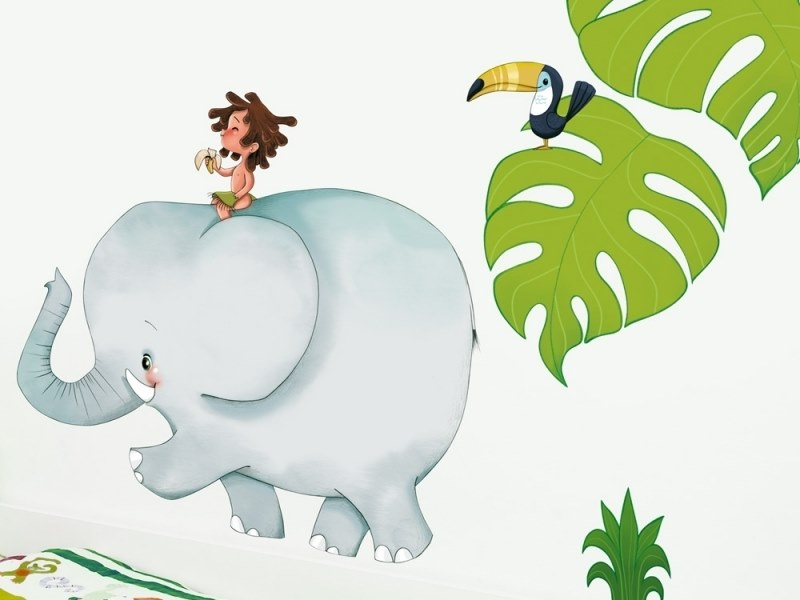 Kids wall sticker JUNGLE by ACTE-DECO