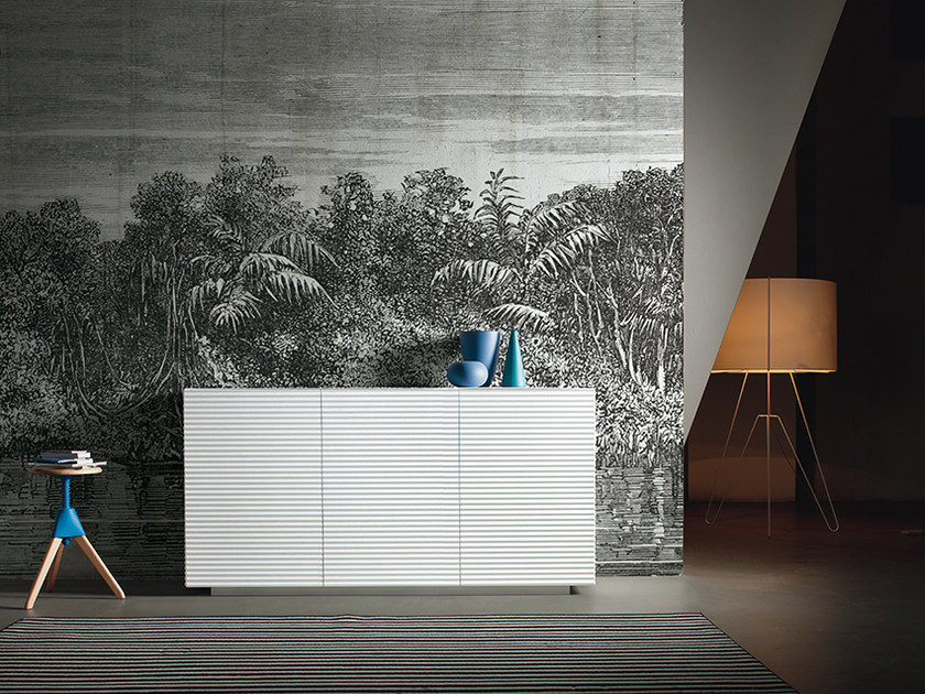 Tropical wallpaper JUNGLE by Inkiostro Bianco