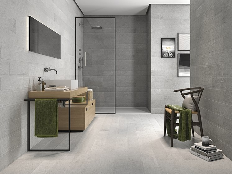 Porcelain wall/floor tiles with stone effect JUNGLE by ITT Ceramic