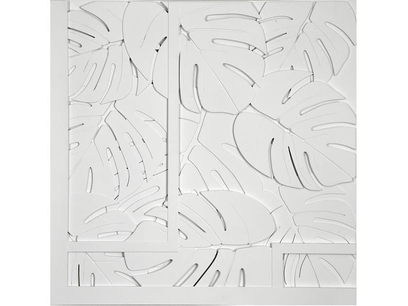 Pannello con effetti tridimensionali per interni/esterni JUNGLE by Decor