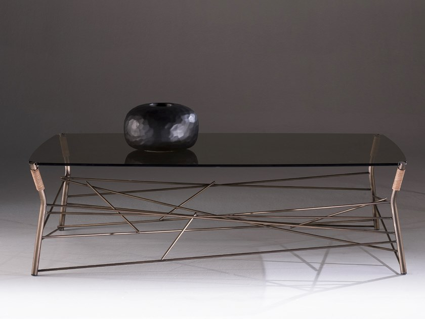 Low rectangular coffee table JUNGLE | Rectangular coffee table by F.lli Orsenigo