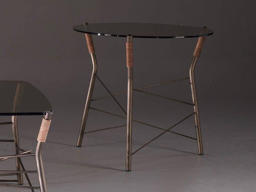 Round coffee table JUNGLE | Round coffee table by F.lli Orsenigo