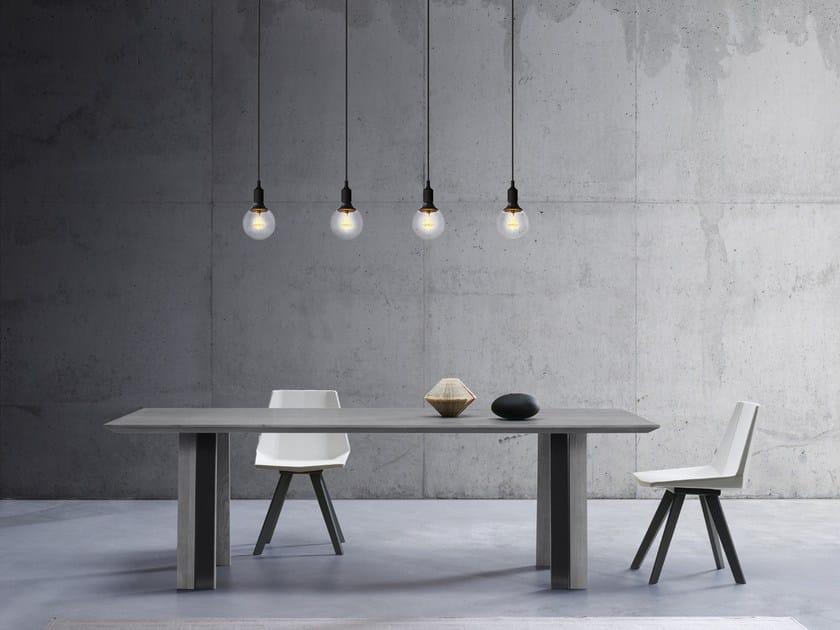 Rectangular table JUNO by Natisa