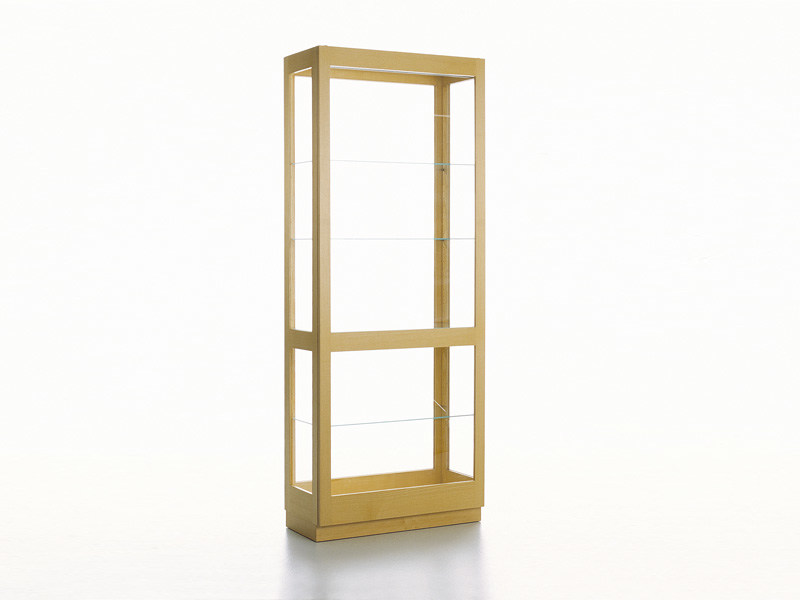 Contemporary style glass display cabinet KA72 | 728 by Karl Andersson