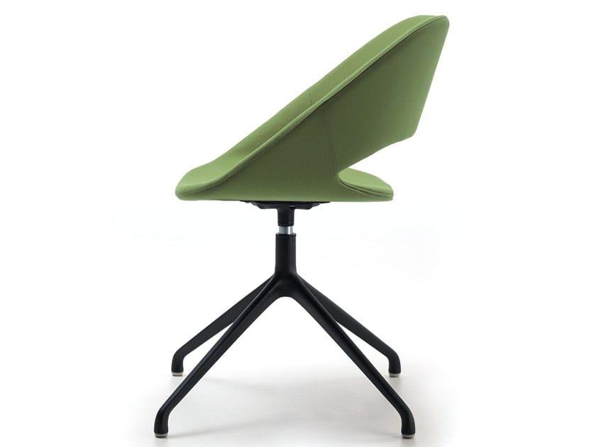 Swivel fabric chair KABIRA FABRIC SP by arrmet