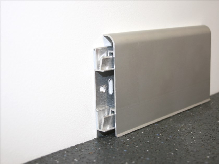 Aluminium Skirting board KAC by Genesis