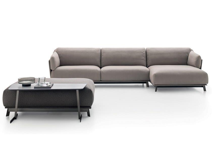 3 seater fabric sofa with chaise longue KAILUA | Sofa by Ditre Italia