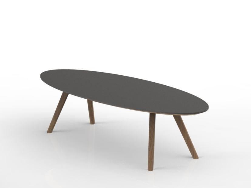 Oval coffee table KALA | Oval coffee table by Tuna Ofis