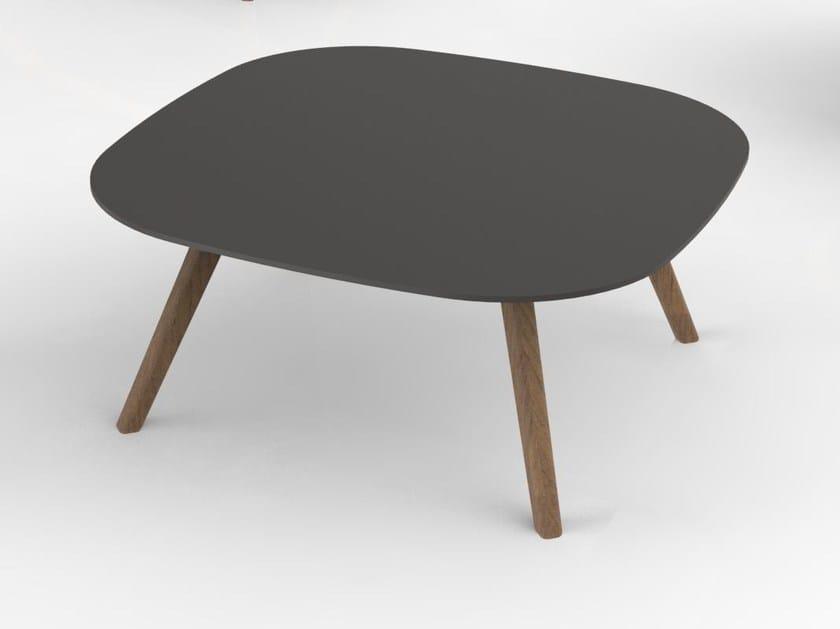 Square coffee table KALA   Square coffee table by Tuna Ofis