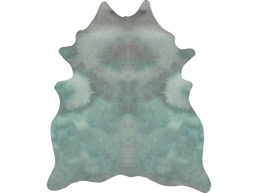 Leather rug KALEIDO BREATH by Miyabi casa
