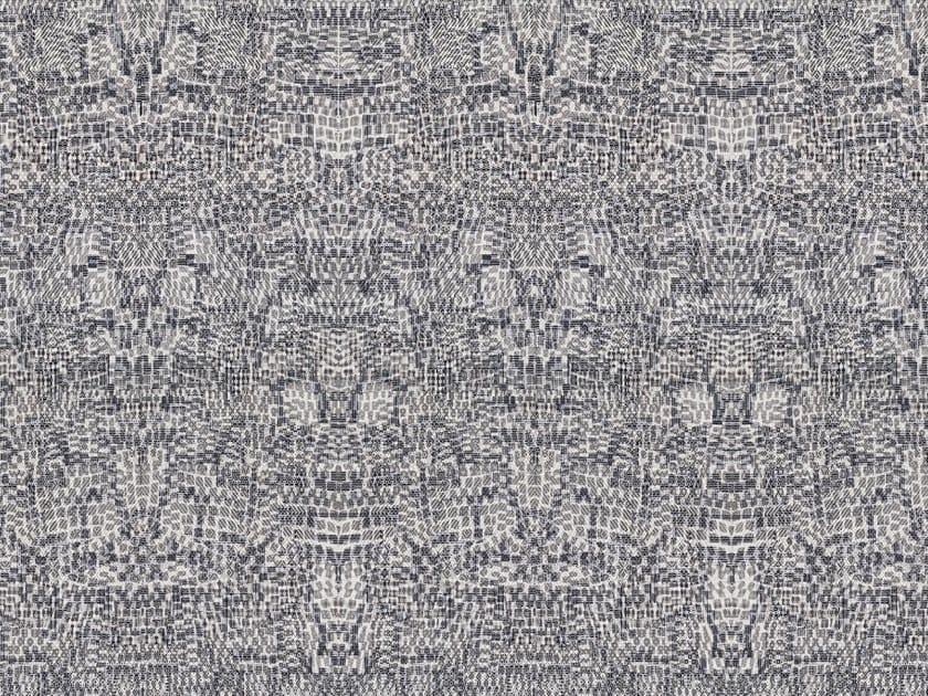 Geometric washable nonwoven wallpaper KALEIDO by Tecnografica Italian Wallcoverings