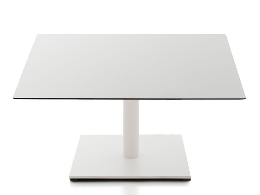 Low square HPL coffee table KALEOX | HPL coffee table by Kastel