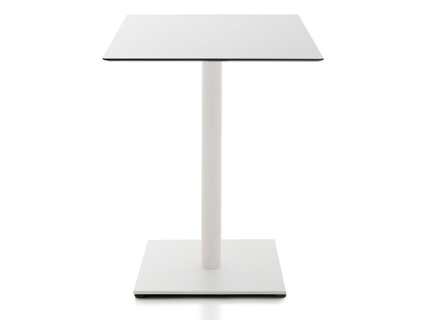 Square HPL contract table KALEOX | Table by Kastel