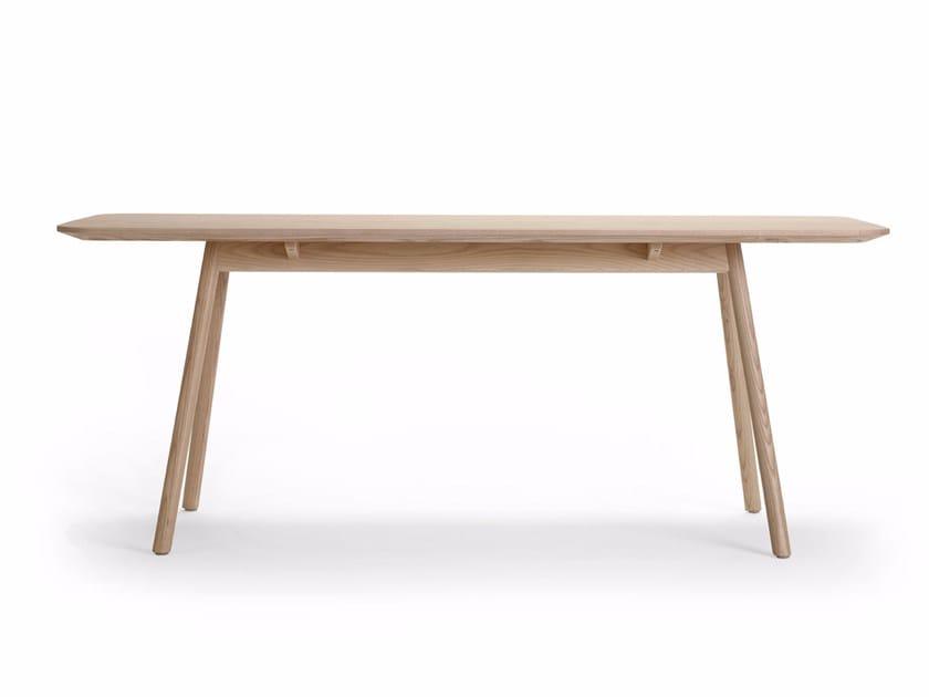 Rectangular ash table KALI | Rectangular table by Offecct