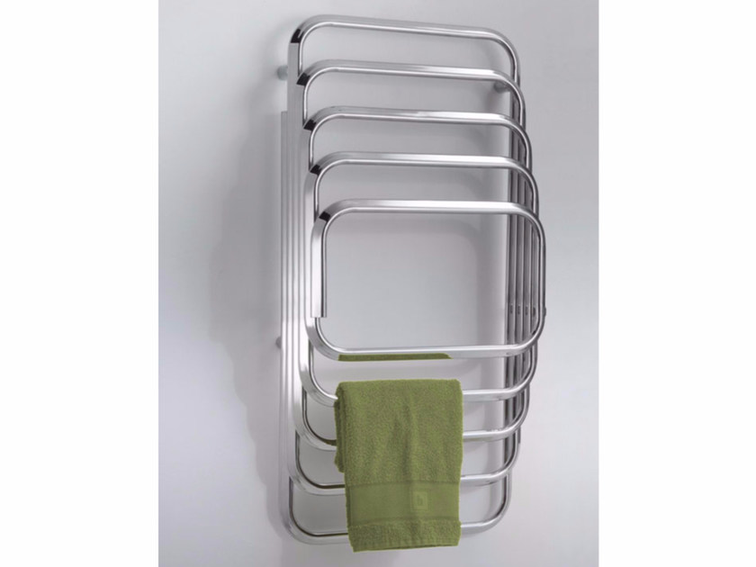 Chrome wall-mounted towel warmer KALOS 100-50 by Hotwave