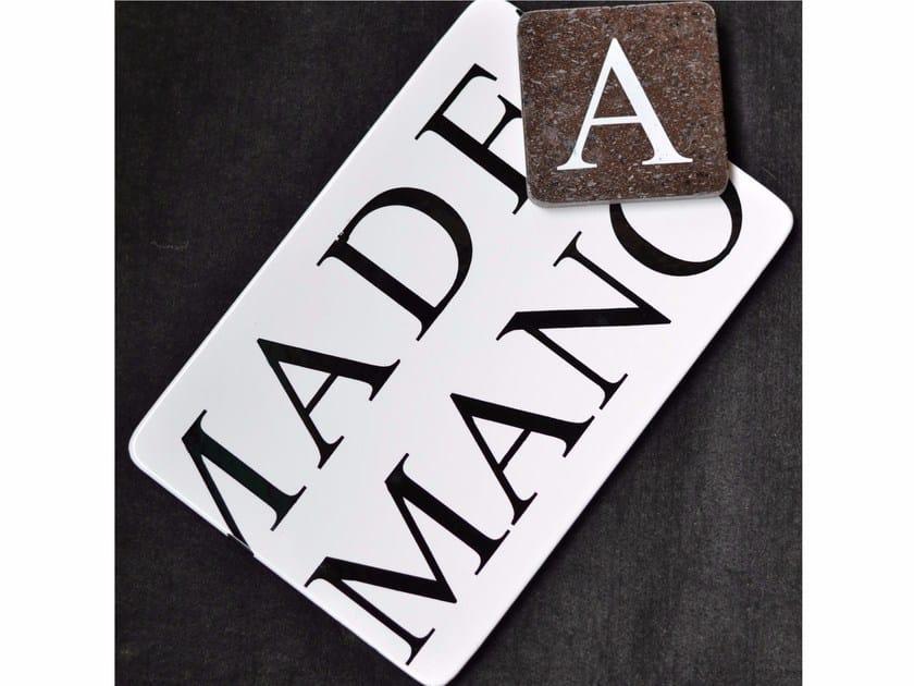 Lava stone tray KALURI ALFA by Made a Mano