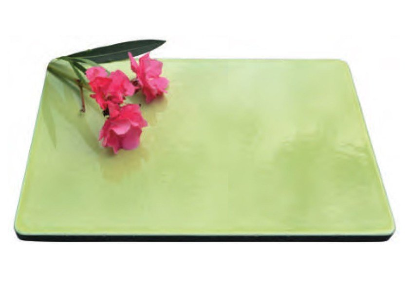 Lava stone tray KALURI PANORAMA by Made a Mano