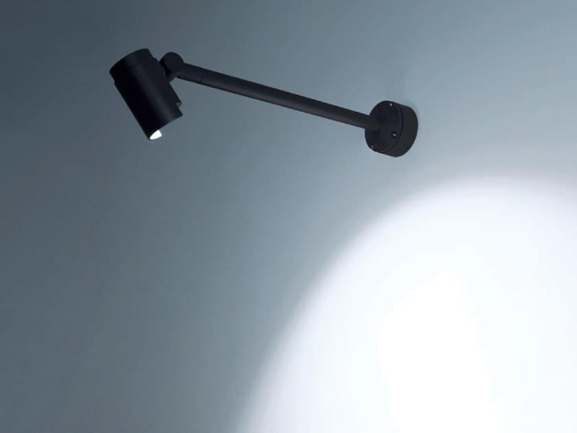 LED adjustable die cast aluminium Outdoor floodlight KANA by Rossini Illuminazione
