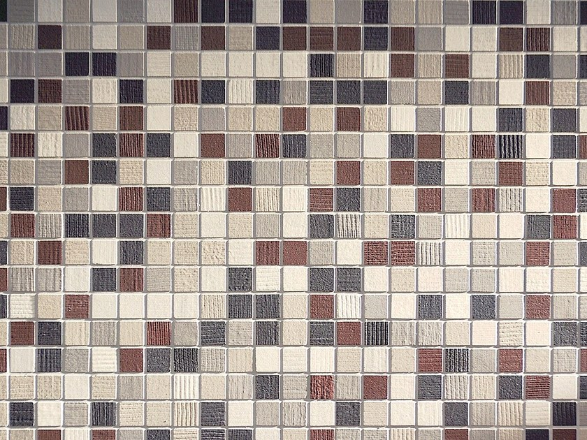 Porcelain stoneware mosaic KANVAS | Mosaic by Ceramiche Coem