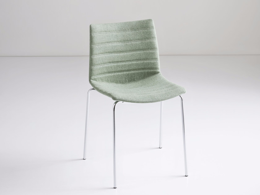Upholstered fabric chair KANVAS NA FULL by GABER