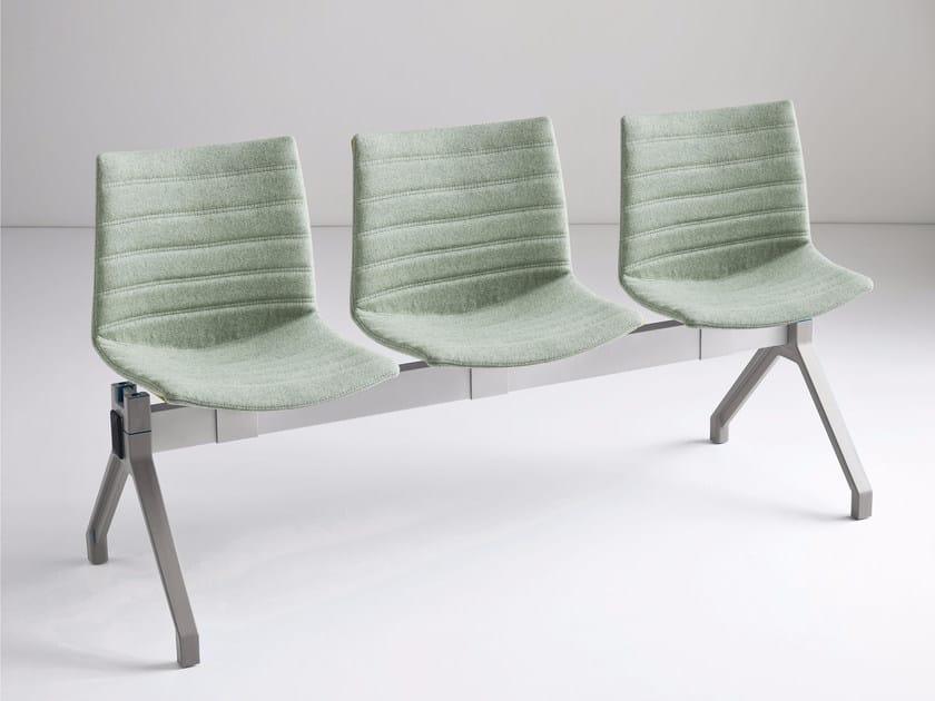 Freestanding beam seating KANVAS PG FULL by GABER