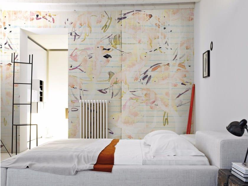 Motif panoramic wallpaper KAORI by Inkiostro Bianco