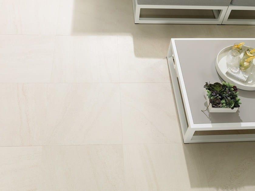 Porcelain stoneware wall/floor tiles with stone effect KAOS BEIGE by URBATEK