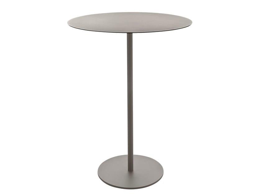 Round steel high table KAPIO | High table by Kastel