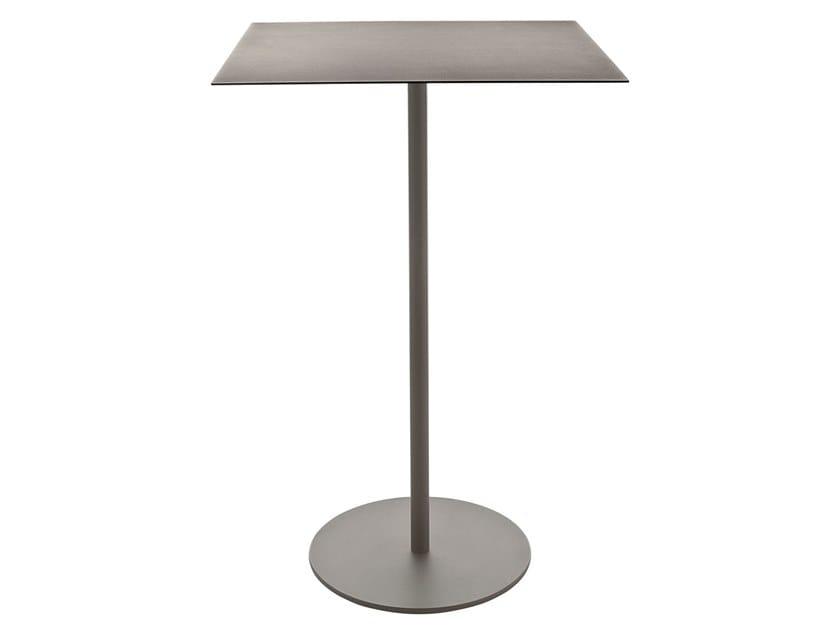 Square steel high table KAPIO | Table by Kastel