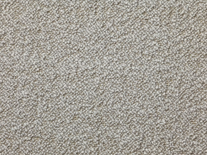 Solid-color boucle wool fabric KARAKORUM by Dedar