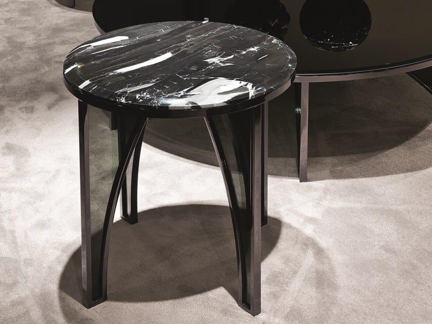 Tavolino alto in marmo KARL | Tavolino alto by Longhi