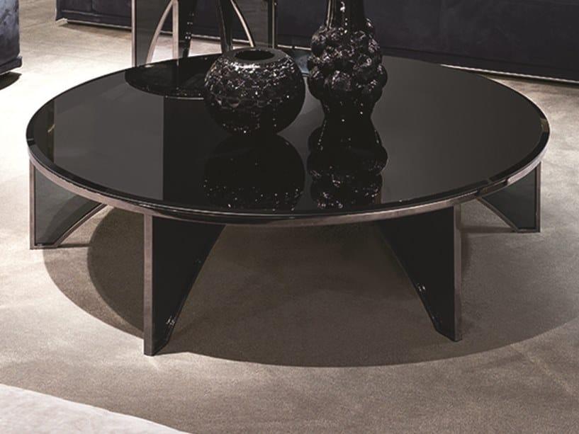Tavolino basso in vetro a specchio KARL | Tavolino basso by Longhi