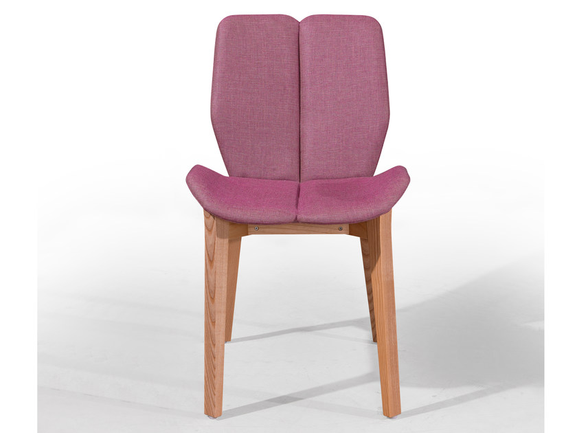 Upholstered chair KARMA by Fenabel