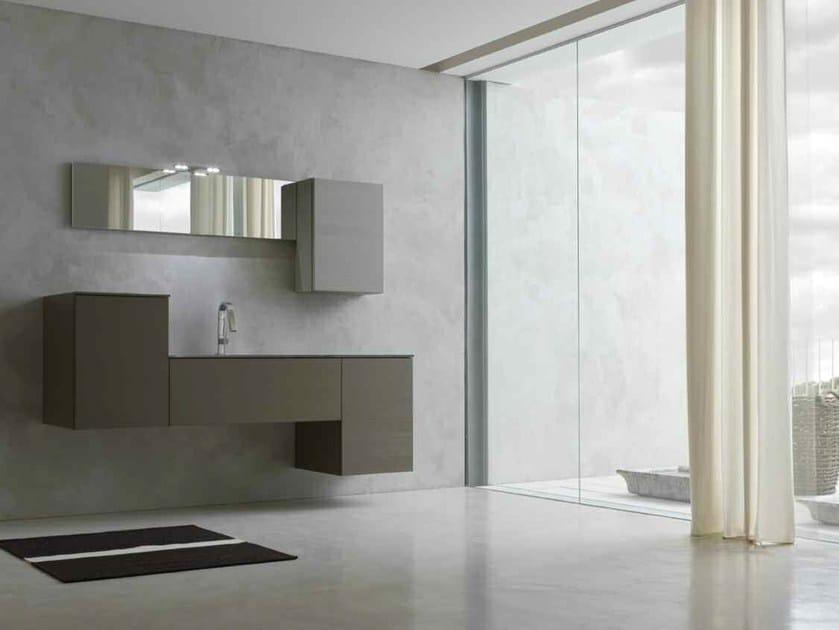 Sistema bagno componibile KARMA - COMPOSIZIONE 17 by Arcom