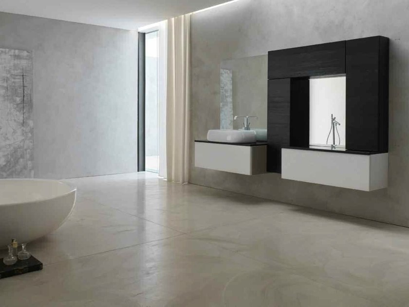 Bathroom cabinet / vanity unit KARMA - COMPOSITION 18 by Arcom