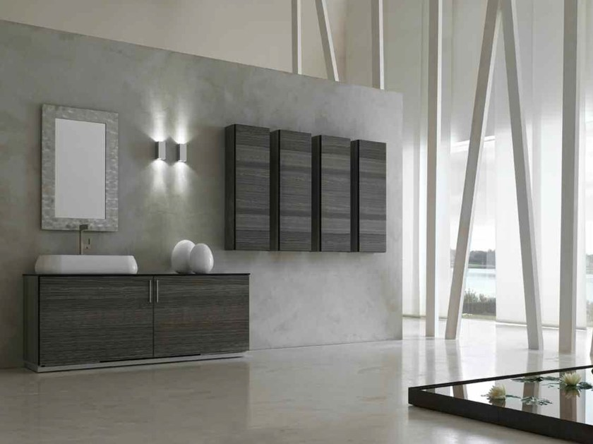 Bathroom cabinet / vanity unit KARMA - COMPOSITION 22 by Arcom