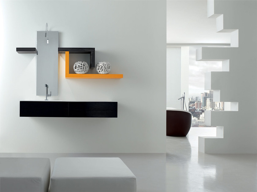 Bathroom cabinet / vanity unit KARMA - COMPOSITION 30 by Arcom