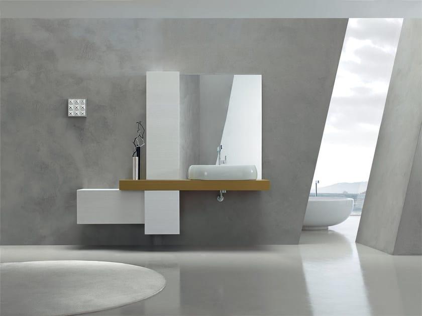 Sistema bagno componibile KARMA - COMPOSIZIONE 31 by Arcom